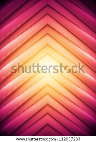 Abstract background, big arrows. Vector illustration eps 10 - stock vector