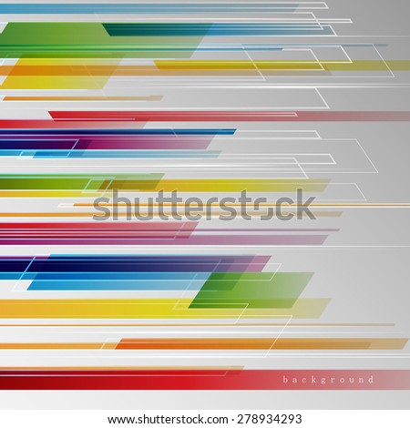 Abstract Background - colorful lines, Graphic Design Editable For Your Design. Beautiful Background For Business Brochure  - stock vector