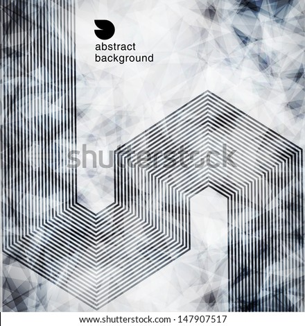 abstract  background. Design modern template can be used for brochure, banners or website layout vector. - stock vector