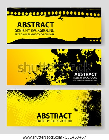 Abstract Background Designs3 (Vector) - stock vector