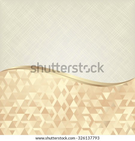 abstract background divided into two - stock vector