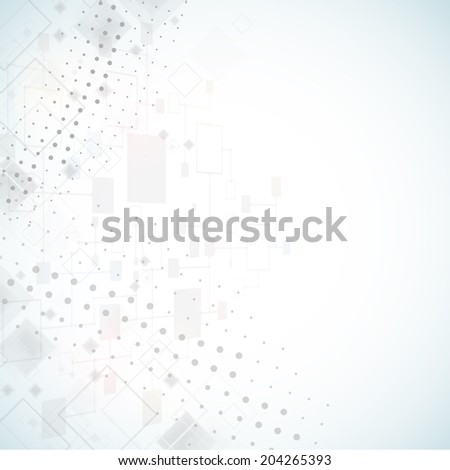 Abstract background. Dotted Vector theme. - stock vector