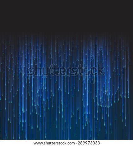 Abstract Background Fiber Optic Trace Blue Signal - vector - stock vector