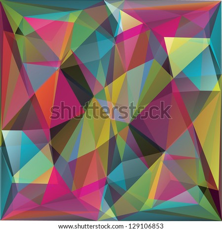 Abstract background for design - vector illustration - stock vector