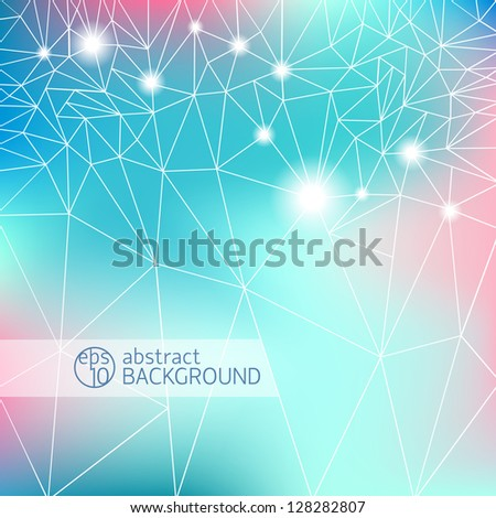 Abstract background for design. Vector Illustration, eps10, contains transparencies. - stock vector