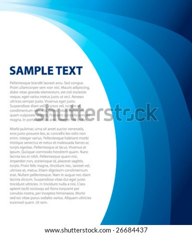 Abstract background for your business artwork. - stock vector