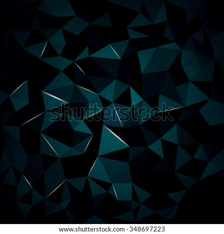 abstract background from crystal, you can change the color keeping the same 3d image - stock vector