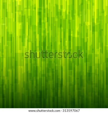 Abstract background green lines pattern texture. Vector illustration. - stock vector