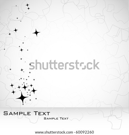 Abstract background in gray color. Vector. - stock vector