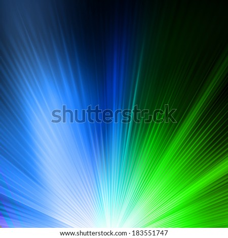 Abstract background in green blue tones. EPS 10 vector file included - stock vector