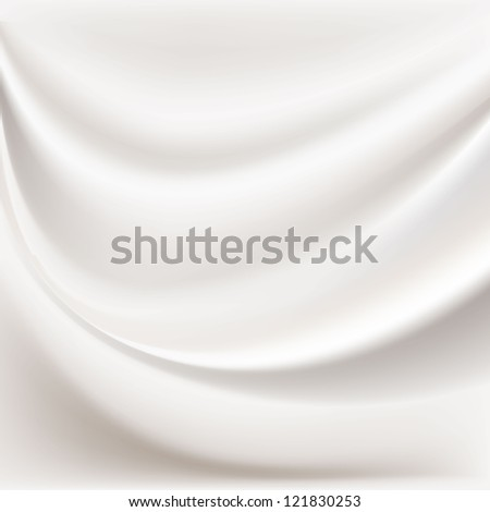 Abstract background in the form of crumpled tissue - stock vector