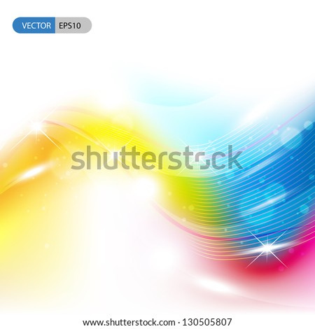 Abstract background is used by many organizations as the basis for selecting research that is proposed for presentation in the form of a poster, platform/oral presentation or workshop presentation - stock vector
