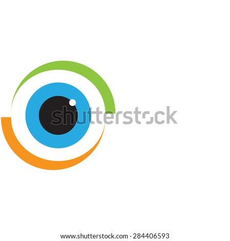 Abstract background. Logo design. Stock vector Illustration. Colorful       - stock vector