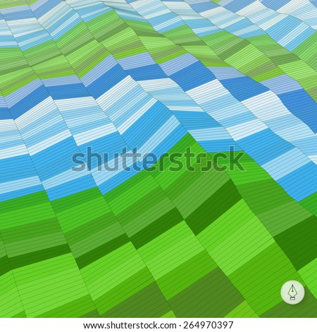 Abstract background. Mosaic. Vector illustration. Can be used for banner, flyer, book cover, poster, web banners.