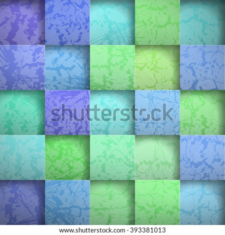 Abstract background stone squares. Vector Illustration - stock vector