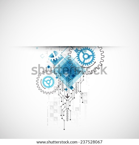 Abstract  background, technology theme for your business. Vector - stock vector