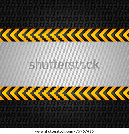 Abstract background template, under construction - stock vector