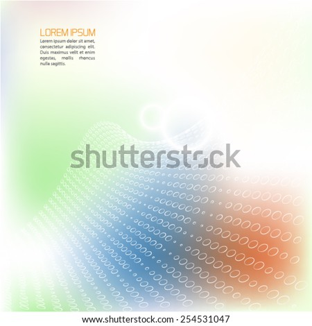 Abstract background.Vector. - stock vector