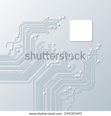 abstract background vector high tech - stock vector