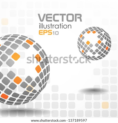 Abstract background. Vector illustration. Eps 10. - stock vector