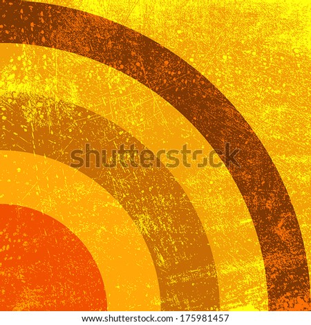 Abstract Background - Waves. EPS10 vector illustration. - stock vector