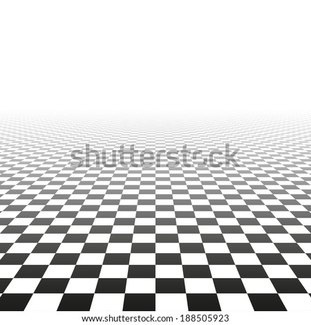 Abstract background with a perspective. Vector tiled texture. - stock vector