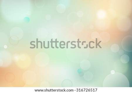 Abstract background with blur lights - vector illustration - stock vector