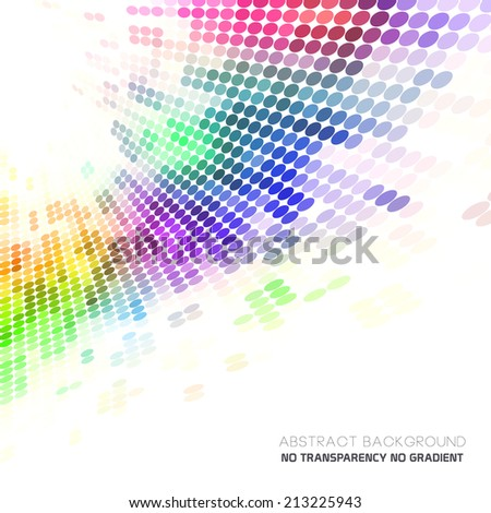 Abstract background with colorful dots, minimal concept background. Ideal for cover designs, especially artistic & and beauty concept works. - stock vector