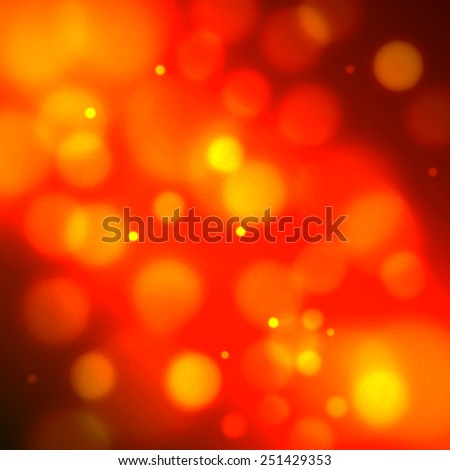 Abstract background with defocused bokeh circles - stock vector