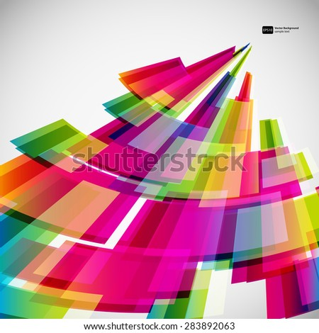 Abstract background with digital design elements. - stock vector