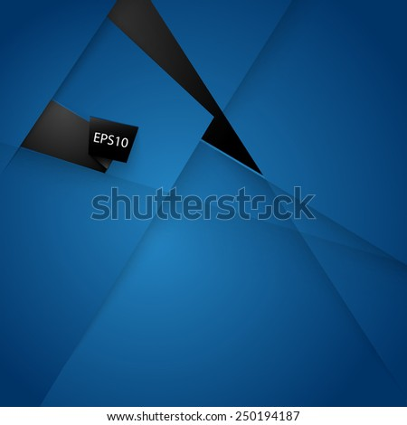 Abstract background with realistic shadows. Vector Illustration for you design / EPS 10/  - stock vector