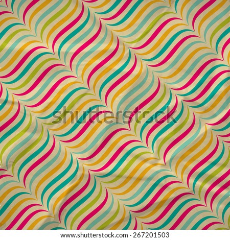 Abstract background with retro pattern. Vector illustration. - stock vector