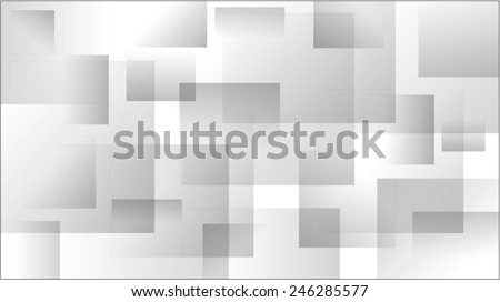 abstract background with squares in various shades of gray - stock vector