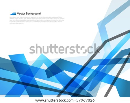 Abstract backgrounds that you can use it for business card.EPS10 Vector. - stock vector