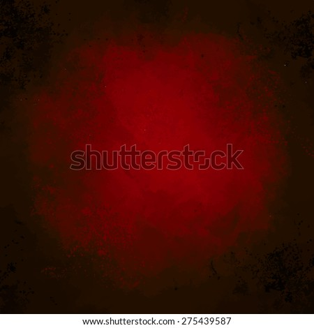 Abstract beautiful colorful dark red  vector watercolor spot hand painted background.  - stock vector