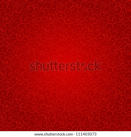 Abstract beauty Christmas and New Year seamless pattern background. Vector illustration - stock vector