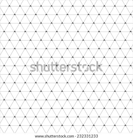 Abstract black  geometric background.  Dots and line. - stock vector