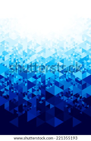 Abstract blue background. Eps8. RGB. Global colors. Organized by layers. Gradients used. - stock vector