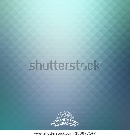 Abstract blue background with soft tones - stock vector