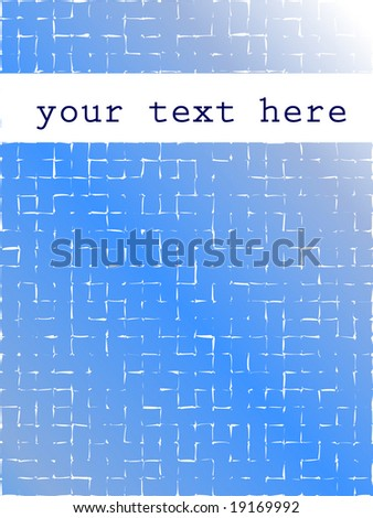 abstract blue pixel background - stock vector