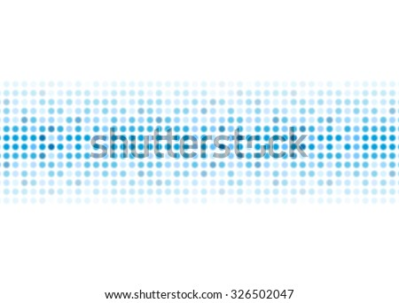 Abstract blue shiny lights background. Vector design - stock vector
