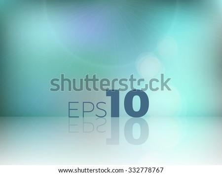 abstract blur studio background - stock vector
