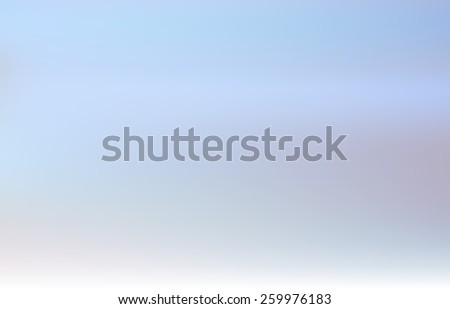 Abstract blurred  background. Vector illustration of soft colored abstract background. Sky color - stock vector