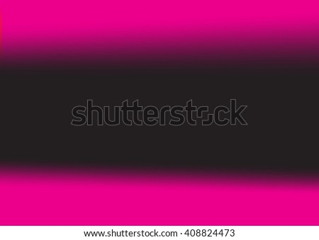 Abstract blurred background with neon pleasant colors,abstract black pink background, smooth gradient texture color, glowing website pattern, banner header or sidebar graphic art image - stock vector
