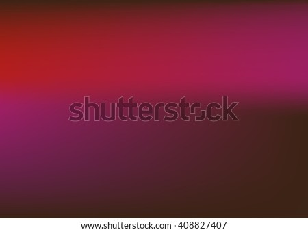 Abstract blurred background with neon pleasant colors,abstract red pink background, smooth gradient texture color, glowing website pattern, banner header or sidebar graphic art image - stock vector