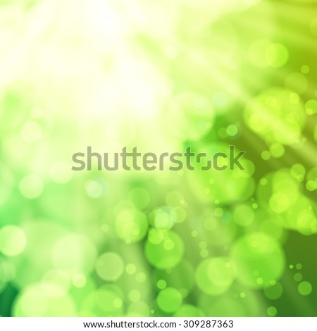 Abstract bokeh background vector illustration eps 10 - stock vector