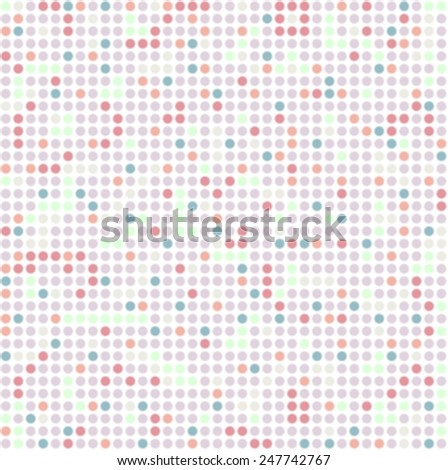 Abstract bright background with circles. Vector design - stock vector