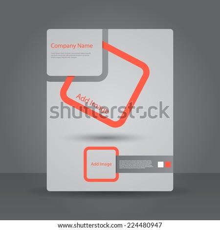 Abstract Brochure Design template. - stock vector