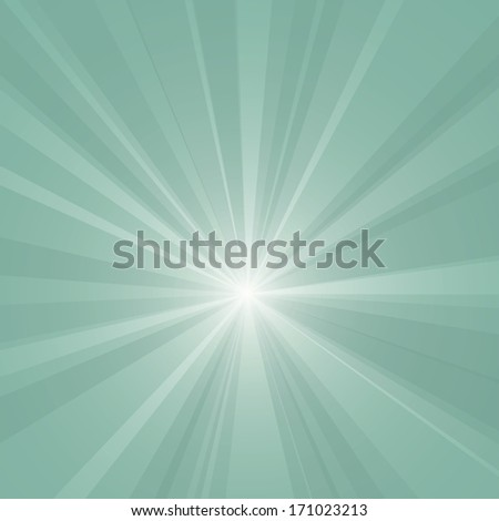 Abstract burst vector background. - stock vector