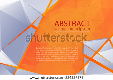 abstract business template - stock vector